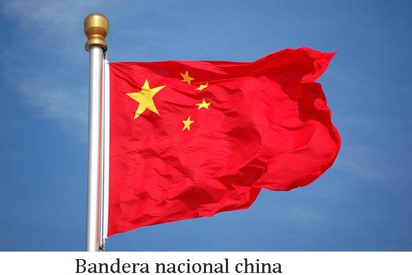 Bandera nacional china