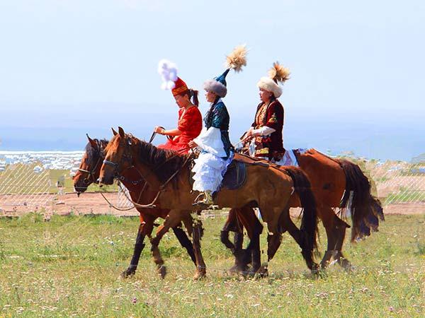 etnia kazajo