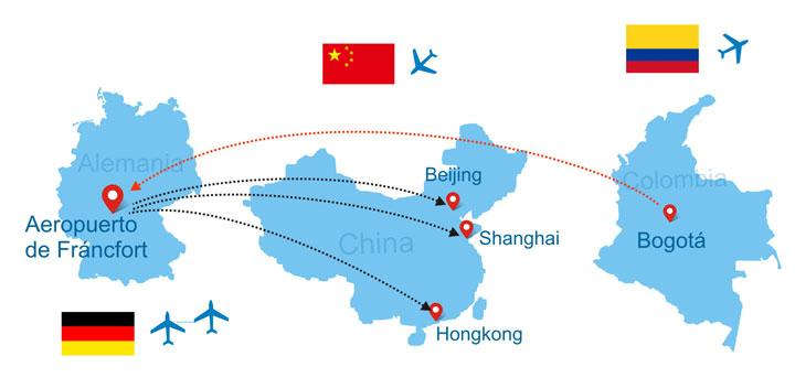 Vuelos Internacionales a China