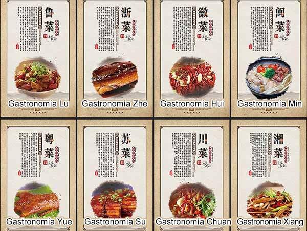 ocho gastronomía