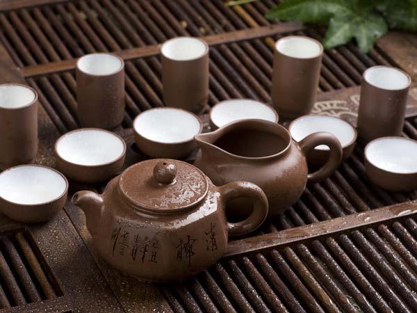 Conjuntos de té chino