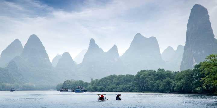 Crucero del Rio Li