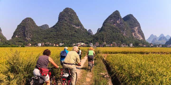 Viaje de Campo de Yangshuo