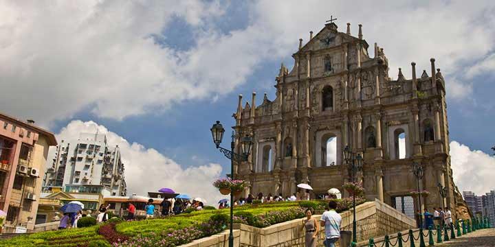 Ruinas de Macau San Pablo