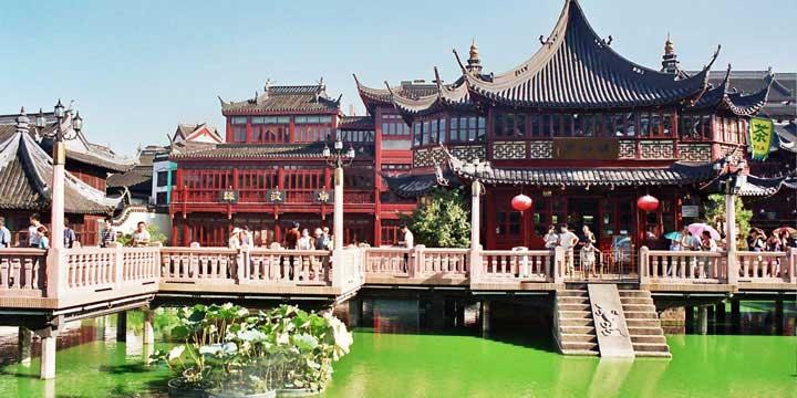 Jardin Yuyuan Old Street
