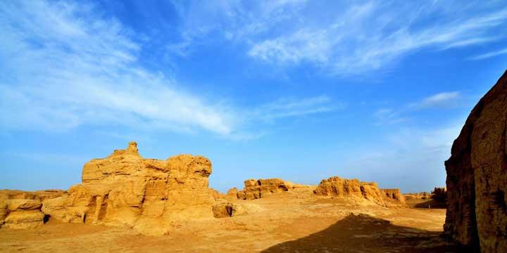 La ciudad antigua de Gaochang