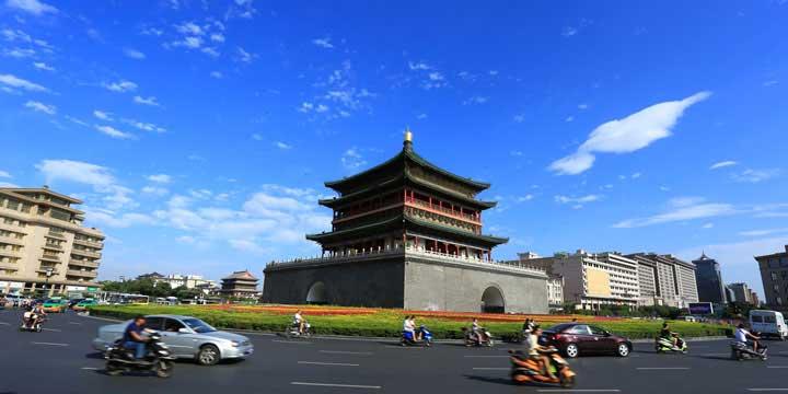 Vista a la Ciudad de Xi'an