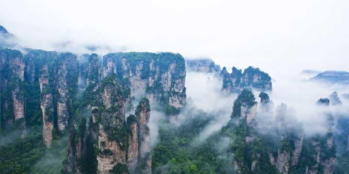 Área escénica Yuanjiajie