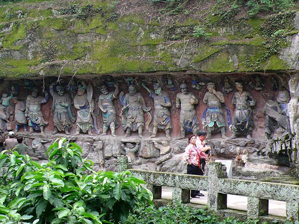 Esculturas rupestres de Dazu