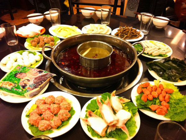 comida de Sichuan