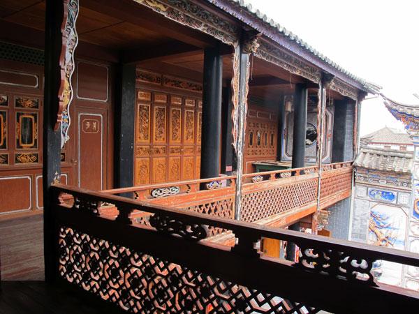 Las casas de la étnia Bai de Xizhou