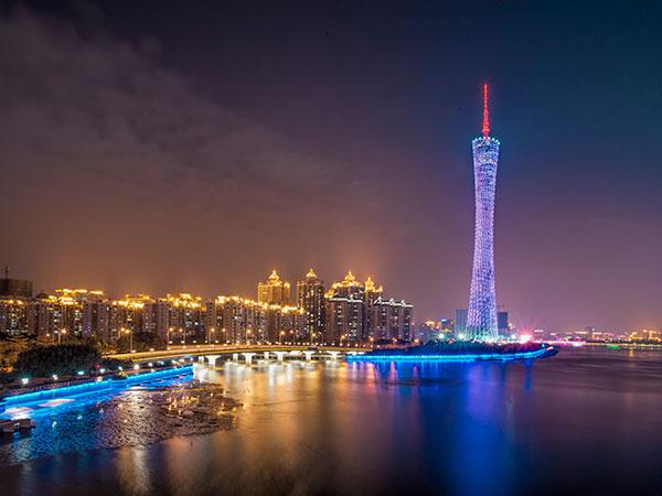 Torre de telecomunicaciones de Cantón