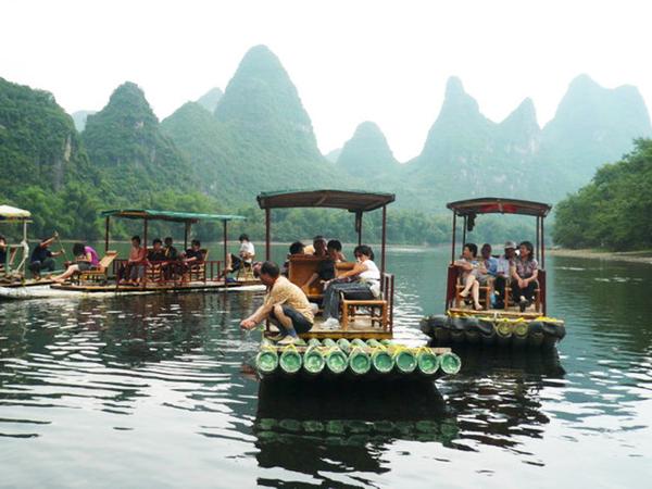 Rafting en el río Yulong