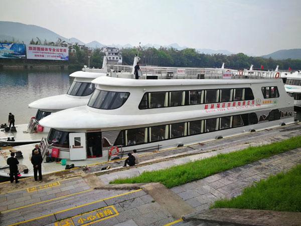 Crucero del Río Li en Guilin