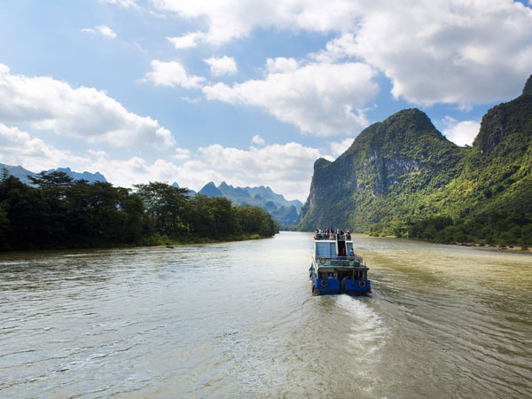 Río Li en Guilin