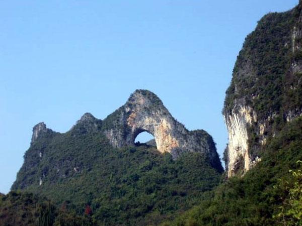 Colina de la Luna Yangshuo en Guilin