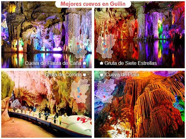 Mejores cuevas en Guilin