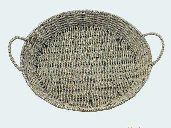 Artesanía de la hierba tejida