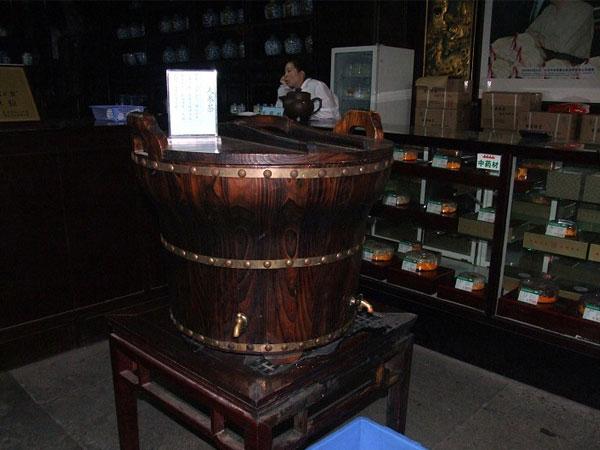 El Museo de Medicina China de Farmacia Hu Qingyu