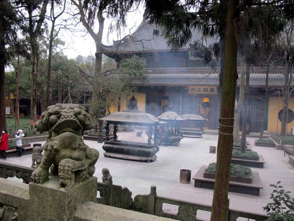 El templo de Lingyin