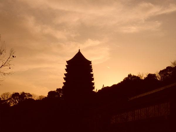 La pagoda de las Seis Armonías