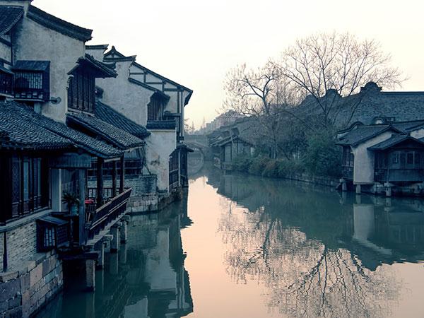 El Pueblo Antiguo de Wuzhen en Hangzhou