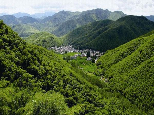 El pueblo de Té Meijiawu