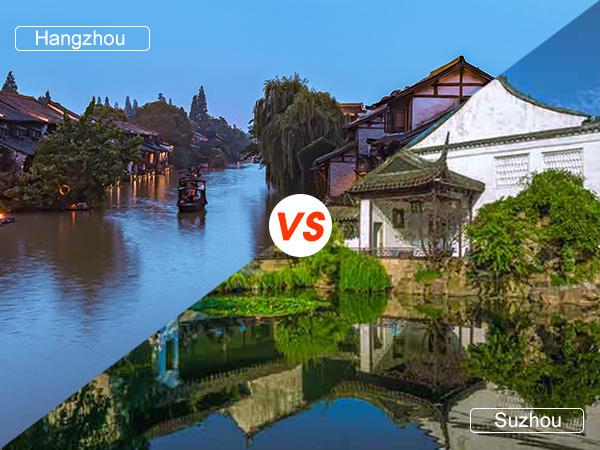 Hangzhou VS Suzhou