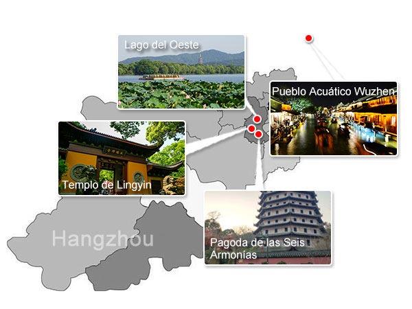 Lugares Emblemáticos de Hangzhou