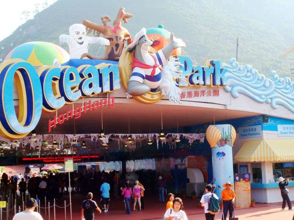 Parque del Océano de Hong Kong