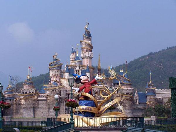 Parque temático Disneyland de Hong Kong