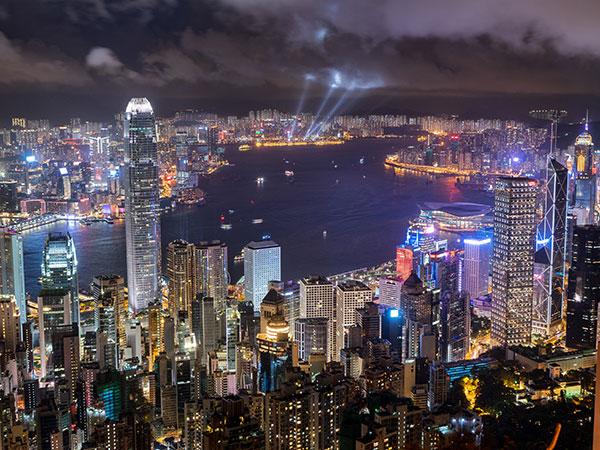 8 Días Viaje a Beijing Shanghai y Hong Kong en Grupo - Vista de la ciudad de Hong Kong