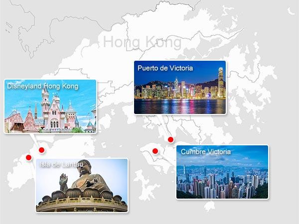 Lugares Emblemáticos de Hong Kong