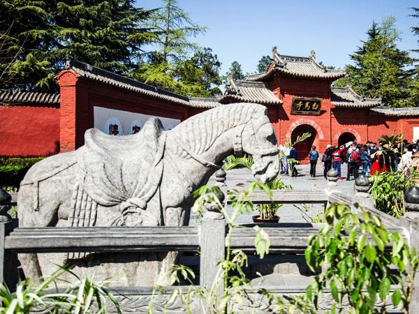 templo de caballo blanco