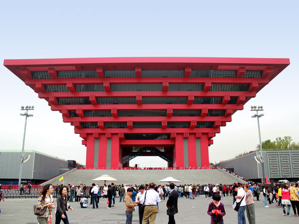 pabellón de la Expo de Shanghai