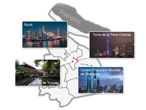 Lugares Emblemáticos de Shanghai