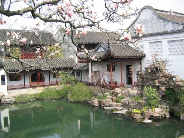 jardín de wangshiyuan