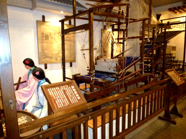 fabrica de seda de Suzhou
