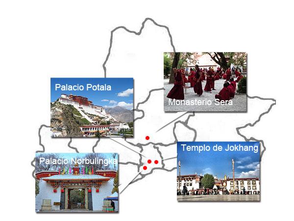 Lugares Emblématicos de Lhasa