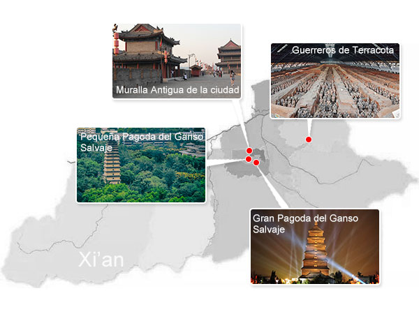 Lugares Emblemáticos de Xi'an