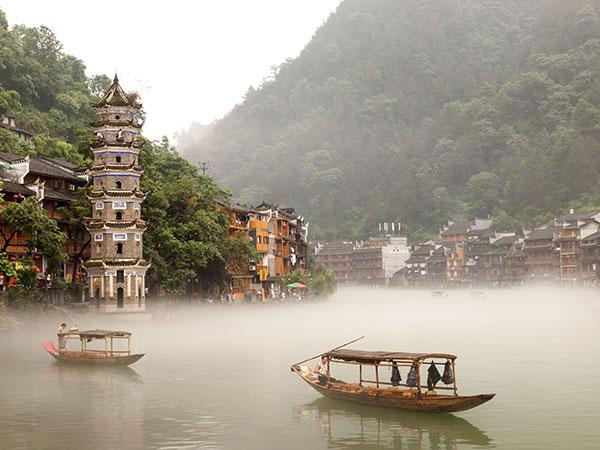 pueblo antiguo fenghuang (fenix)