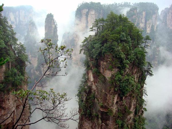 Área escénica de Yuanjiajie