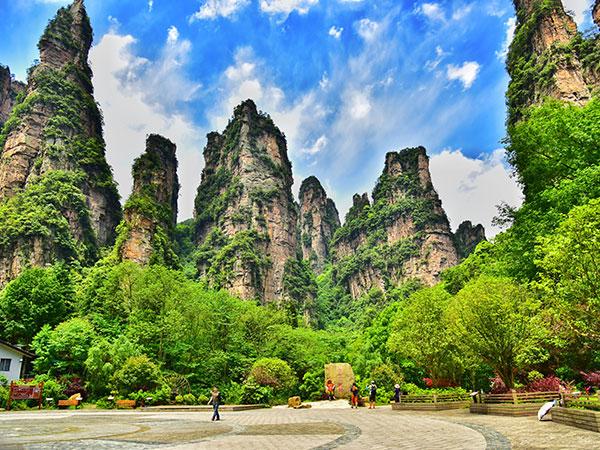 vista de zhangjiajie