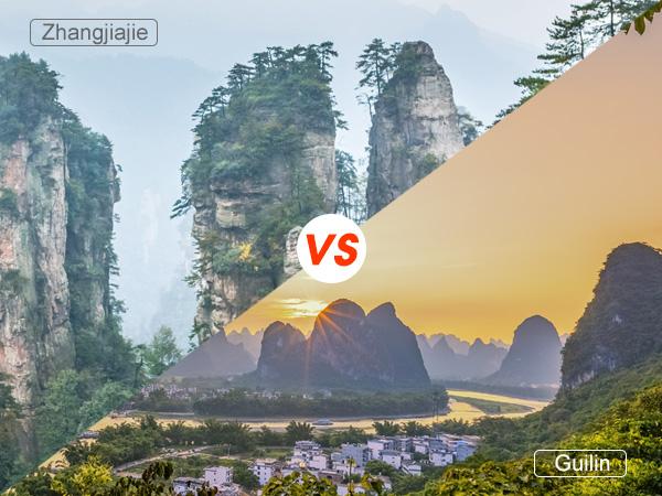 zhangjiajie o guilin, cual mas merece a visitar