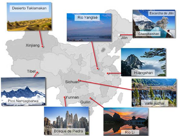 10 mejores paisajes naturales mas hermosos de China
